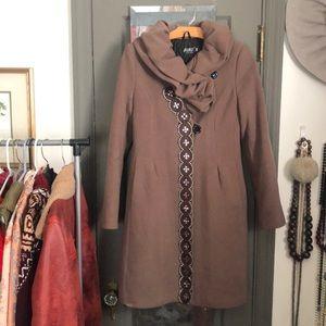 Coat with beautiful embellishments
